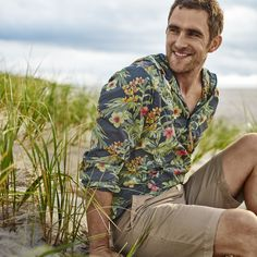 Break Away Blooms Anorak - Tommy Bahama #mens #fashion #prints #relax