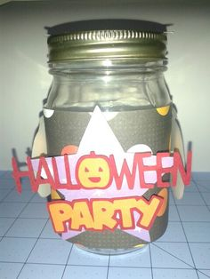 Halloween Center Piece Jar 1 Side 3