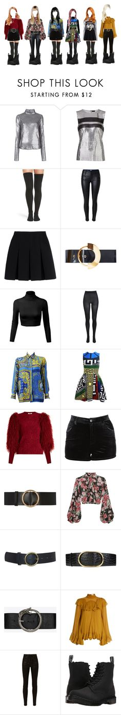 """""""DC- '불장난 (PLAYING WITH FIRE)"""" by yonce4park ❤ liked on Polyvore featuring Misbehave, Paco Rabanne, Peony & Moss, Alexander Wang, Roksanda, Bardot, Versace, Sonia Rykiel, Evil Twin and Maison Boinet"""