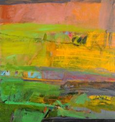 Over the garden wall John Caldwell Brown Abstract Geometric Art, Abstract Landscape, Landscape Paintings, Landscapes, Arthur Dove, Robert Rauschenberg, Pastel Paintings, Abstract Paintings, Art Portfolio