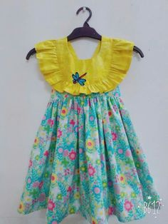 Girls Frock Design, Kids Frocks Design, Baby Frocks Designs, Baby Dress Design, Baby Design, Baby Girl Frocks, Baby Girl Party Dresses, Frocks For Girls, Dresses Kids Girl
