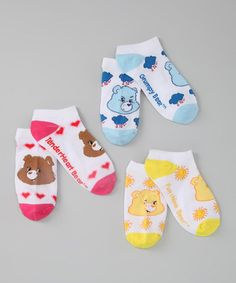 Take a look at this Hot Pink & Blue Care Bears Socks Set by Hasbro on #zulily today!   http://www.zulily.com/invite/ngrahe352