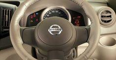 Genuine Accessories of #NissanCars - Shakti Nissan Steering wheel cover https://goo.gl/b6VLwe #NissanAccessories #Nissan