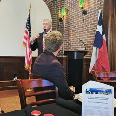 Montgomery County Judge Craig Doyal answers questions on mobility at the Commercial Real Estate Association (CREAM) lunch. 83% of Montgomery County is unincorporated. As an incorporated city The Woodlands residents would continue to pay County taxes but would not receive County services like law enforcement and road maintenance.