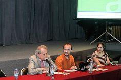 Panel Apertura conformado por María Eva Raffoul, Cristobal Navarro y Jorge Bragulat. Panel, Socialism, Aperture, Financial Statement, Circuit