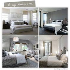 #gray bedroom decor