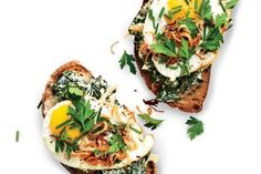When it comes to presentation, open-face sandwiches are just better. Case closed.