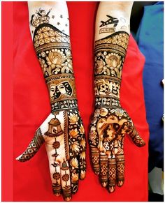 Full Hand Mehndi Designs For Your Wedding Day