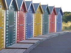 Dawlish beach huts UK