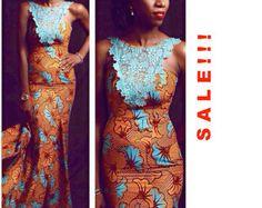 Pompei afrikanischen print Maxi-Kleid afrikanische von FashAfrique