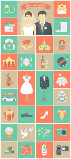 #Wedding #Flat Icons Web #Design Stuff for Wedding Website http://www.webdesign.org/design-stuff-for-wedding-website.22424.html