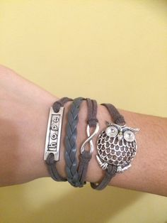 Features: Fashion multi-layer bracelet,  vintage design with high quality material. Adjustable band,