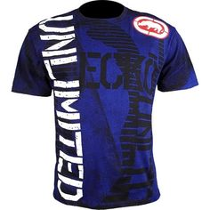 New!  Ecko Neverender T Shirt Blue  Our Price: $28.50  Sale Price: $21.38   #onSale #ecko #tees #xmasgift #xmas #gift #blue #giftsforhim #hiphop #urbanclothing #25percentOFF #cluburban.com