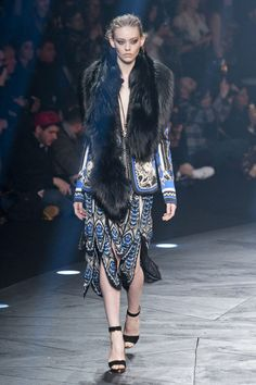 Roberto Cavalli at Milan Fashion Week Fall 2014 - Runway Photos