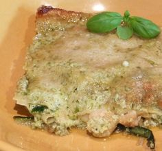 Nirvana HandMade: Lasagna al pesto con gamberi e zucchine