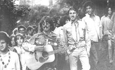 """7AUG1967 """"when the phone rang, this friend of mine goes, """"George Harrison's at Hippie Hill!"""" #HaightAshbury"""