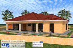 Beautiful House Plans, Beautiful Homes, Single Storey House Plans, Site Plans, Round House, Garage Plans, House Floor Plans, Home Collections, House Design
