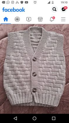 Sweater Design, Filet Crochet, Baby Knitting Patterns, Free Pattern, Diy And Crafts, Lily, Couture, Boys, Sweaters