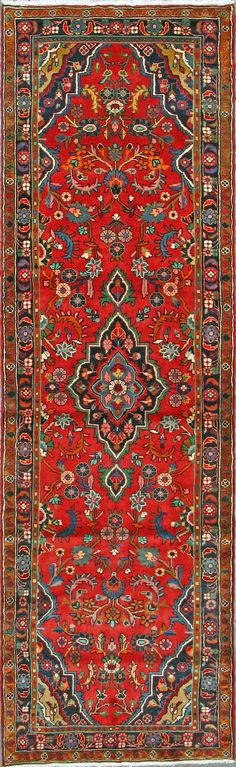 Buy Hamadan Persian Rug x Authentic Hamadan Handmade Rug Persian Rug, Bohemian Rug, Oriental, Old Things, Carpet, Rugs, Handmade, Stuff To Buy, Home Decor