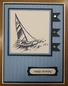 Guy birthday card.