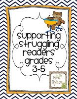 Decoding, the Names Test, and Resources for You!  Supporting Struggling Readers in Grades 3-5, Part 4