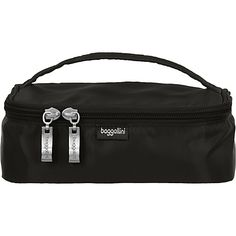 #LightweightPackableExpandableBags, #TravelAccessories - baggallini Zip Closed Organizer Black - baggallini Lightweight packable expandable bags