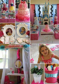 Wow... Disney princess party