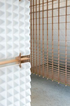 GRID SPACE DIVIDERS - Designer Space dividing systems from Tuttobene ✓ all information ✓ high-resolution images ✓ CADs ✓ catalogues ✓ contact. Interior Walls, Interior Design, Space Dividers, Metal Texture, First Apartment, Wood Veneer, Restaurant Design, Wall Design, Grid