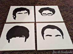 DIY: The Big Bang Theory Wall Art