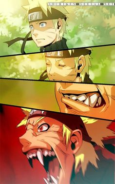 Naruto - monster within