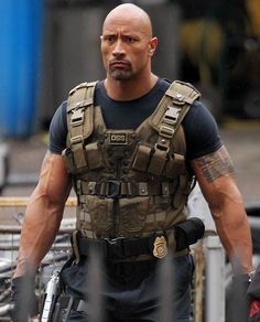 """Movie hero Dwayne Johnson grapples with gang of raiders on set of The Fast And Furious 6"" thesun.co.uk (September 3, 2012)"