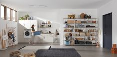 Nobilia Kitchen, Mudroom, Laundry Room, Bungalow, Custom Design, Shelves, Storage, Bed, Furniture
