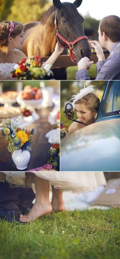 Country Wedding Inspiration by Terra Dawn Photography | The Wedding Story