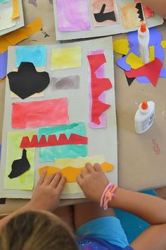 Painting with Scissors: Kids Study Matisse