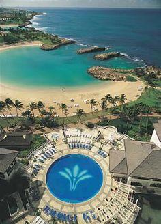 Ko'Olina Lagoons- Marriott Resort & Spa in Oahu, August 2013 Stayed here while in Honolulu for Kellen's Varsity football trip