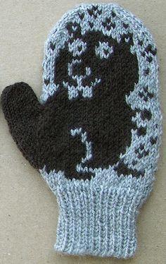 Elwood right by knitter B, via Flickr #knit
