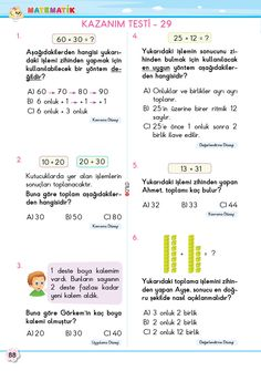 2. Sınıf Soru Bankası Matematik Süper Kitap Bullet Journal, Books, Math Lessons, Libros, Book, Book Illustrations, Libri