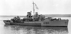HMCS Collingwood Royal Canadian Navy, Royal Navy, Dazzle Camouflage, Navy Ships, Corvettes, Battleship, British Royals, Sailing Ships, Ww2