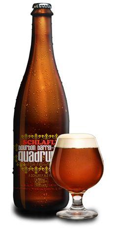 Schlafly Bourbon Barrel Aged Quadrupel  #beer