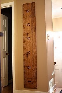 "love the huge ""ruler"" to keep track of growing kiddos!"