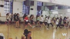 Nuestros alumnos del Campamento bailando en @pineappledancestudios  #campamentowosap