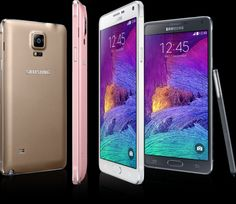 Samsung Galaxy Note 4. Wished the pink 1 would be at Verizon!