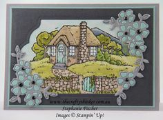 The Crafty Thinker: Stephanie Fischer - Independent Stampin' Up Demonstrator: Sneak Peek Occasions Catalogue: Cozy Cottage with . Homemade Greeting Cards, Homemade Cards, Butterfly Birthday Cards, Stampin Up Catalog, Stamping Up Cards, Cozy Cottage, Card Sketches, Creative Cards, Cardmaking