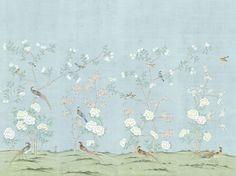 >Chinoiserie wallpaper