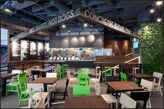 shake shack interior - Google Search