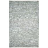 Hand-woven Matador White Leather Rug x - Overstock™ Shopping - Great Deals on St Croix Trading - Rugs White Rug, White Area Rug, Blue Area Rugs, Shades Of White, Grey And White, Gray, Real Leather, White Leather, Soft Leather