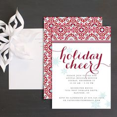 55 best christmas party invitations images on pinterest christmas