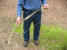 Build a Bamboo Survival Bow in 30 Minutes