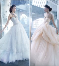 Fancy Ball Gown Silhouettes to Flatter Your Figure. To see more wedding dresses: http://www.modwedding.com/2013/05/05/fancy-ball-gown-silhouettes-to-flatter-your-figure/