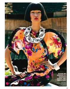 TO THE EAST: WANG XIAO BY LI QI FOR VOGUE CHINA APRIL 2013